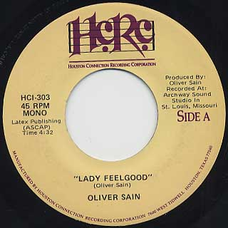 Oliver Sain / Lady Feelgood front