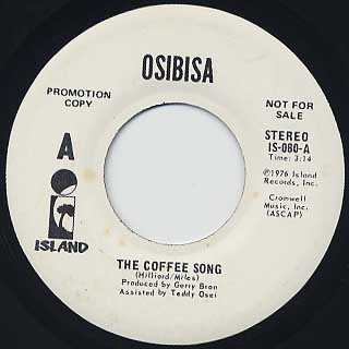 Osibisa / The Coffee Song(45)