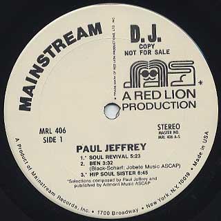 Paul Jeffrey / S.T. label