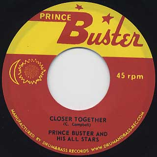 Prince Buster And His All Stars / Funky Jamaica back