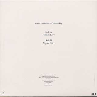 Prins Emanuel & Golden Ivy / Hidden Love back