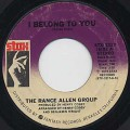 Rance Allen Group / I Belong To You c/w The Wheel Of Life