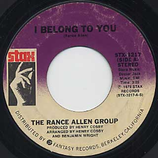 I Belong To You DVD - The Rance Allen Group,THE LIVE
