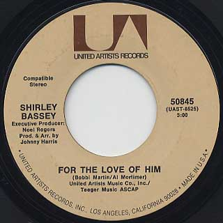 Shirley Bassey / Diamonds Are Forever back