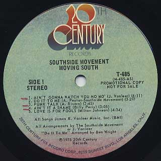 Southside Movement / Moving South label