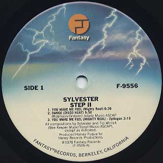 Sylvester / Step II label
