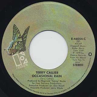Terry Callier / Ocasional Rain back