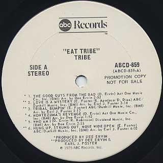 Tribe / Tribal Bumpin' label