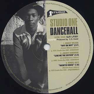 V.A. / Studio One Dance Hall(Sir Coxson In The Dance: The Foundation Sound) label