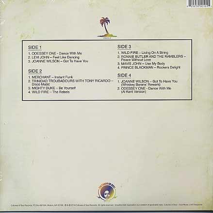 V.A. / Tropical Disco Hustle back