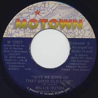Willie Hutch / Theme Of Foxy Brown back