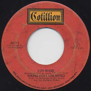 Young Holt Unlimited / Luv-Bugg c/w Wah Wah Man
