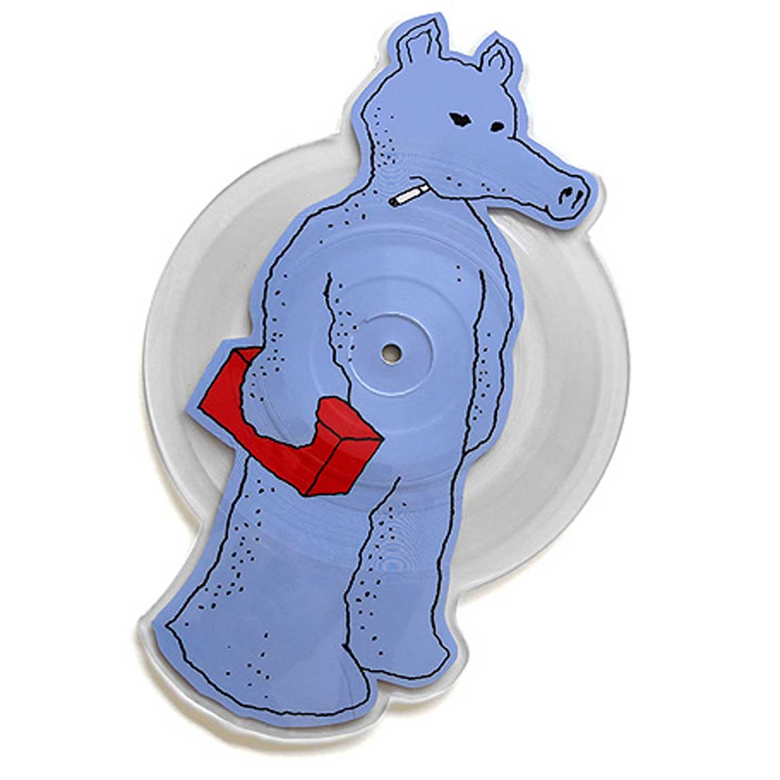 Quasimoto / Talkin Shit b/w Planned Attack (Die Cut Blue Picture Disc)