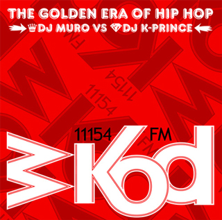 DJ Muro Vs DJ K-Prince / The Golden Era Of Hip Hop front