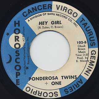 Ponderosa Twins + One / You Send Me back