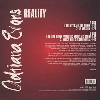 Adriana Evans / Reality back