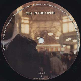 Andres / Out In The Open back
