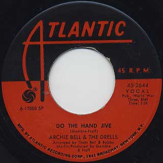 Archie Bell and The Drells / Girl You're Too Young c/w Do The Hand JIve back