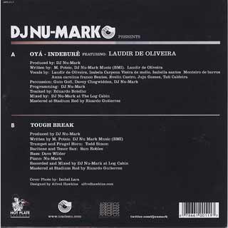 DJ Nu-Mark / Oya Indebure back