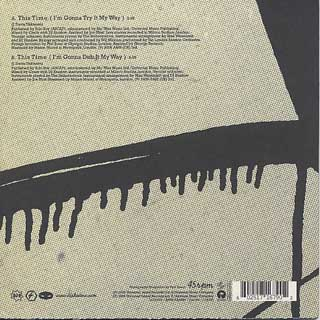 DJ Shadow / This Time (I'm Gonna Try It My Way) back