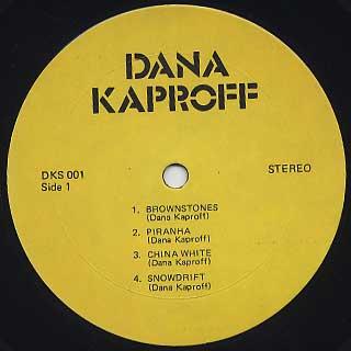 Dana Kaproff / S.T. label