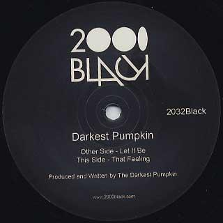 Darkest Pumpkin / Let It Be back
