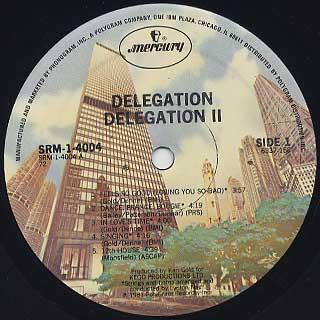 Delegation / II label