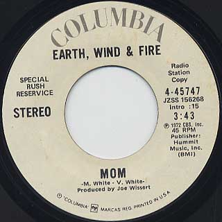 Earth, Wind & Fire / Mom