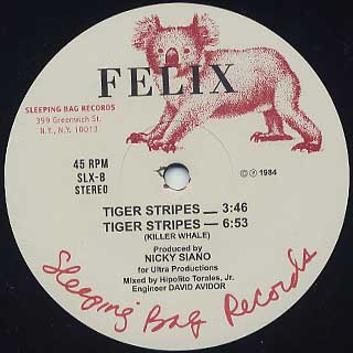 Felix / Tiger Stripes front