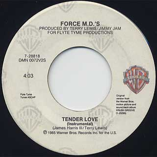 Force M.D.'s / Tender Love back