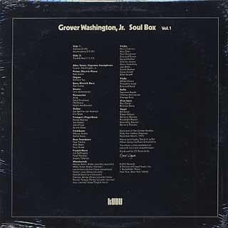 Grover Washington, Jr. / Soul Box Vol.1 back