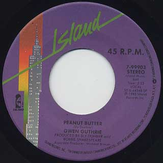 Gwen Guthrie / Peanut Butter