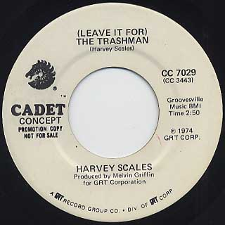 Harvey Scales / Trashman c/w Electric Robot