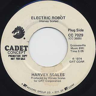 Harvey Scales / Trashman c/w Electric Robot back