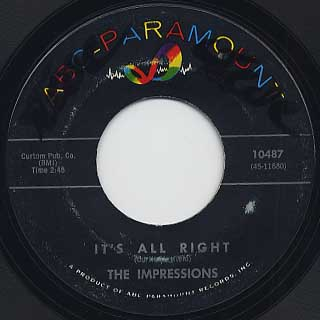 Impressions / It's All Right