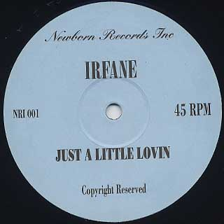 Irfane / Just A Little Lovin front