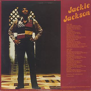 Jackie Jackson / S.T. back