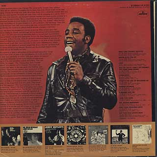 Jerry Butler / The Best Of Jerry Butler back