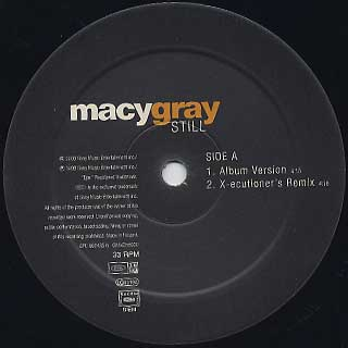 Macy Gray / Still label