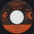 Marva Whitney / I Made A Mistake Because It's Only You