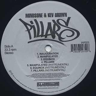 MindsOne & Kev Brown / Pillars label