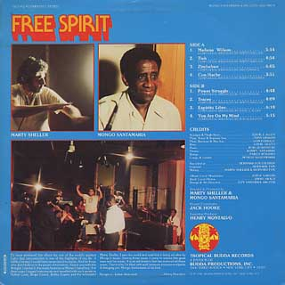 Mongo Santamaria And His Latin - Jazz Orch / Free Spirit back