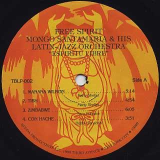 Mongo Santamaria And His Latin - Jazz Orch / Free Spirit label