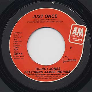 Quincy Jones / Just Once