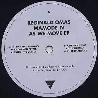 Reginald Omas Mamode IV / As We Move EP back