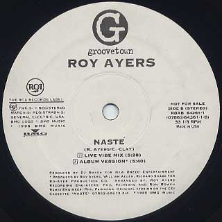 Roy Ayers / Naste front