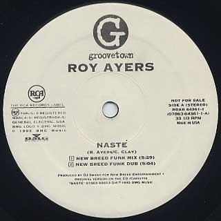 Roy Ayers / Naste back