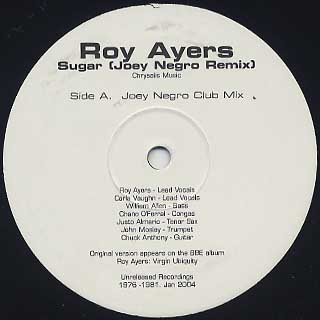 Roy Ayers / Sugar (Joey Negro Remix)