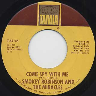 Smokey Robinson and The Miracles / The Love Is I Saw In You Was Just back