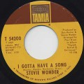 Stevie Wonder / I Got Have A Song